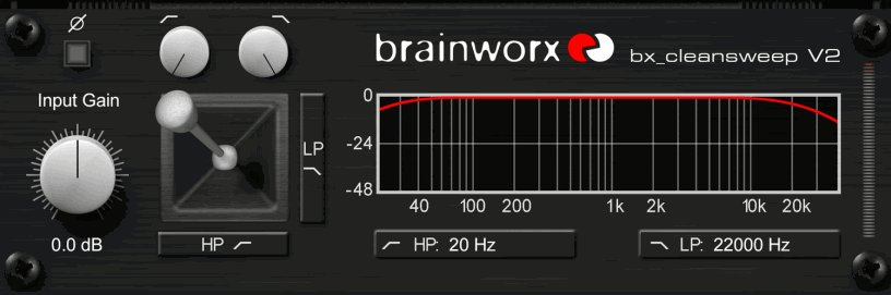 Brainworx bx_cleansweep V2 - SuperHeroSamples.com