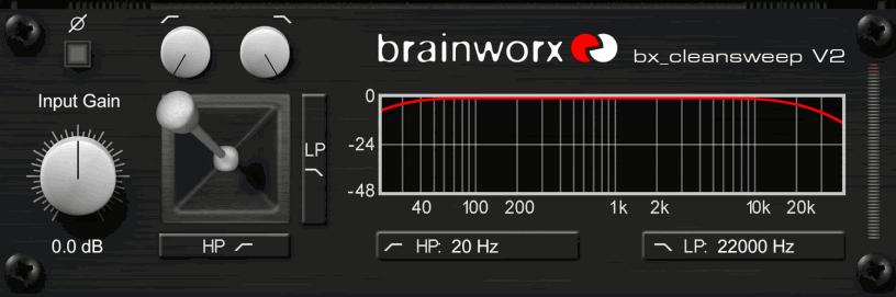 Brainworx bx_cleansweep V2 - SuperHeroSamples.com