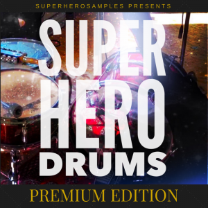 UPER HERO DRUMS PREMIUM EDITION Artwork