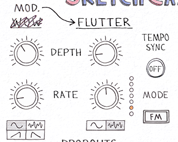 Sketch Cassette - Wow and Flutter
