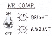 Sketch Cassette Compressor