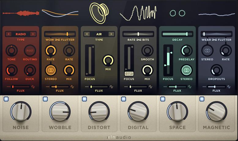 XLN Audio RC-20 Retro Color FX Modules