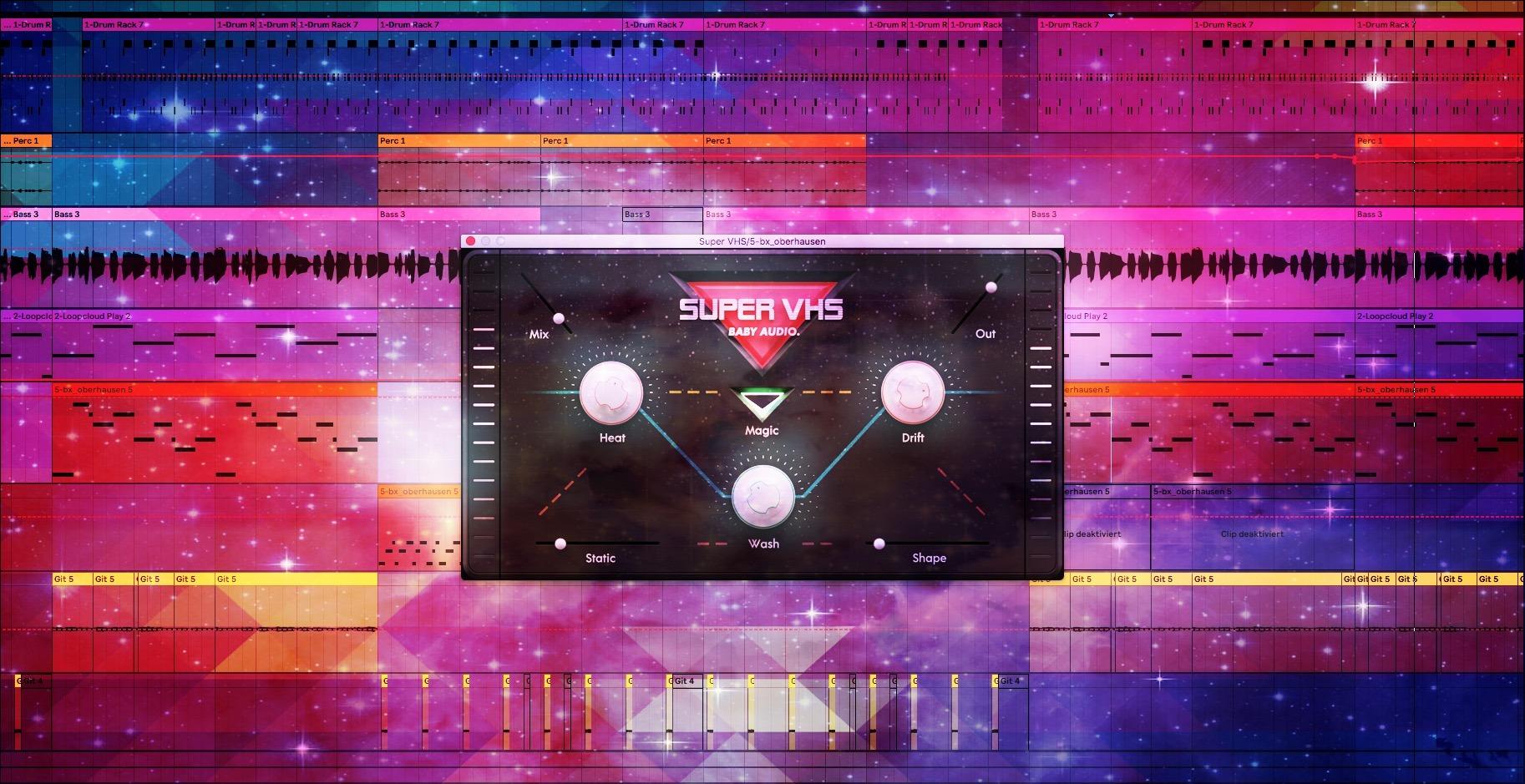 Baby Audio Super VHS Review – 1980s LoFi Plugin