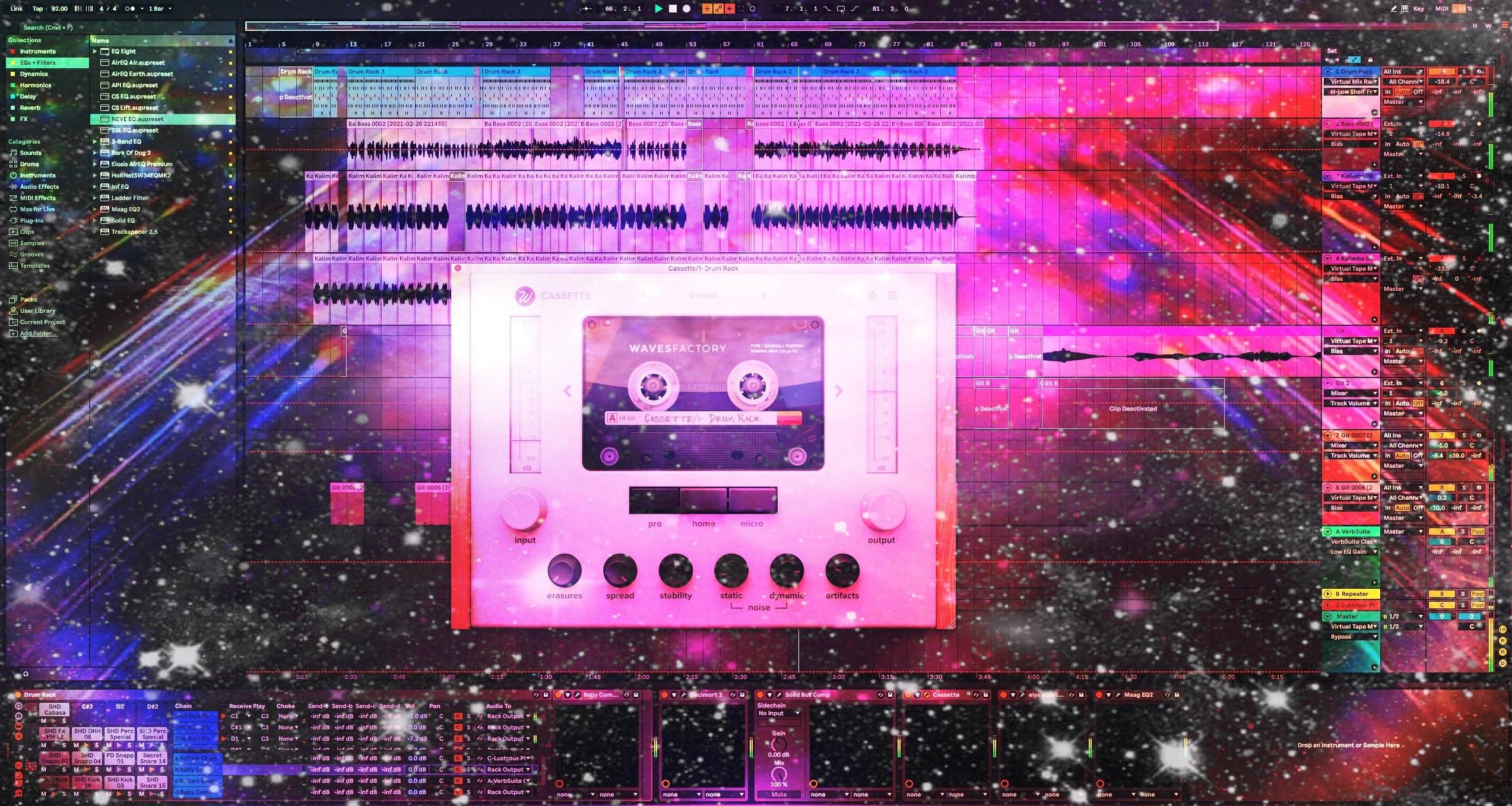 Wavesfactory Cassette Plugin Review – Lofi Tape Sound